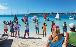 George Town, Bahamas: Paradise found Fun activities for the Cruising Regatta. Photo by Rosie Burr