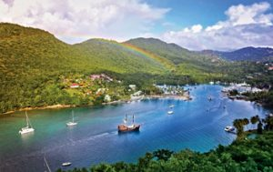 Caribbean movie destinations: Marigot Bay, St. Lucia … home of 'Dr. Dolittle'