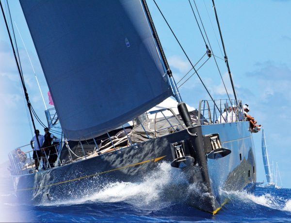 Racing Saint Barth: The 'big boys' compete in the St. Barth Bucket. Photo: Rosemond Gréaux
