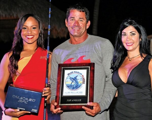 Blue Marlin Classic: Top Angler, Kevin Paul of Waterman. Photography courtesy of Richard Gibson