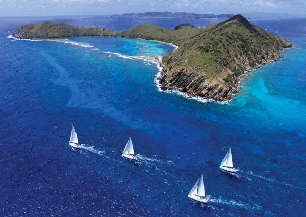 VX One Class: BVISR - Who wouldn't want to race in the beautiful Caribbean? Photo by Todd VanSickle