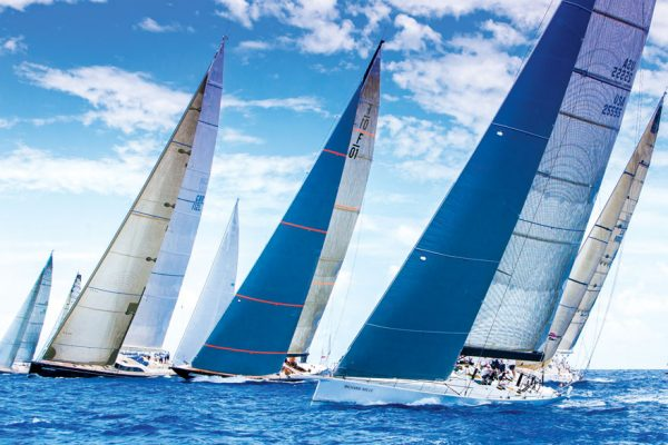 racing saint barth: Wind! Les Voiles de St. Barth. Photo: Jouany Christophe