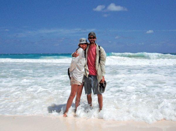 Cooking at Sea: Dave and Connie McBride. Photo: Alvin Kernan