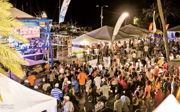 Top Teams Antigua Fishing : It's fishing party time in Nelson's Dockyard. Credit: Micheal Simon