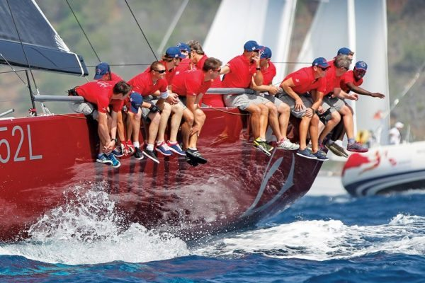 Antigua Sailing Week : The British TP52, Gladiator was unbeaten in every race. Photo Paul Wyeth http://pwpictures.com