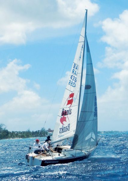 Old Brigand Rum Regatta : Banks Esperanza, the winning J/24