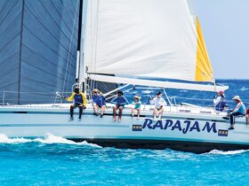 Old Brigand Rum Regatta : CSA Class winner, Ralph Johnson's Rapajam. Credit: Andre Williams