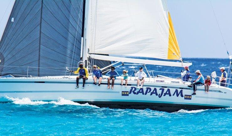 Old Brigand Rum Regatta : CSA Class winner, Ralph Johnson's Rapajam. Credit: Andre Williams