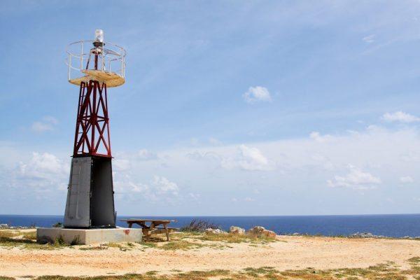 Caribbean lighthouses : Cayman Brac Lighthouse. Photo courtesy of Cayman Islands Department of Tourism