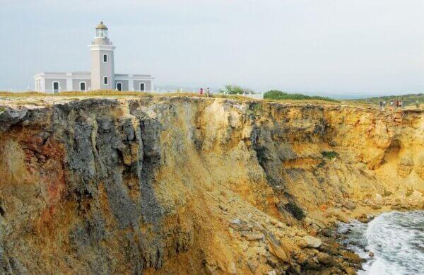 Caribbean lighthouses: Faro Los Morrillos de Cabo Rojo, Puerto Rico. Photo: Dean Barnes