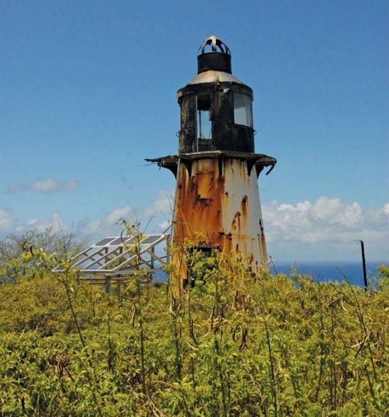 Caribbean lighthouses : Hams Bluff Lighthouse, St. Croix, USVI. Photo: Dean Barnes