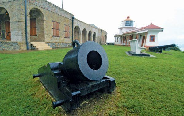 Caribbean Lighthouses : Fort King George Lighthouse, Tobago. Photo: Dean Barnes