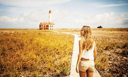 Caribbean lighthouse : Klein Curacao Lighthouse, Curaçao. Photo courtesy of the Curaçao Tourist Board