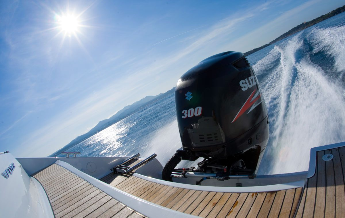 Suzuki Marine running the Caribbean