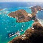 Beautiful Virgin Gorda, home to Yacht Club Costa Smeralda, BVI