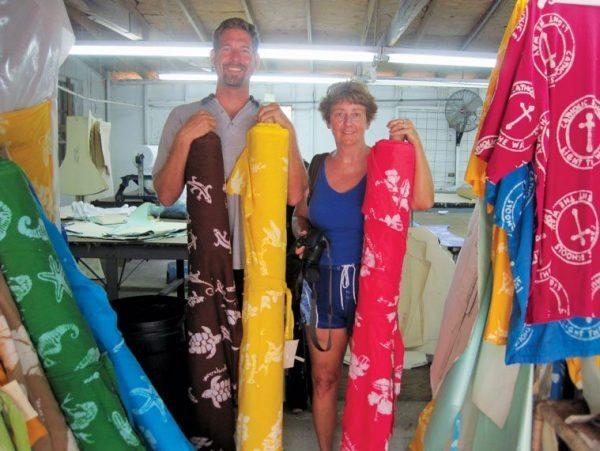 Andros Island Fresh Creek Batik Factory