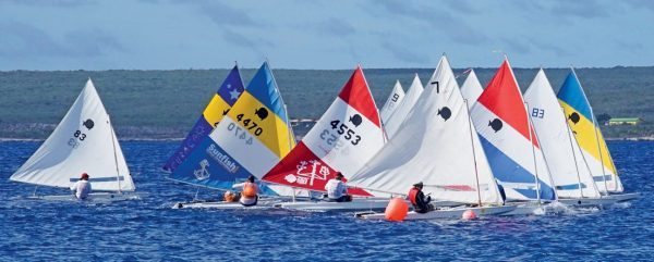 On the water at the 49th Bonaire Sailing Regatta. Photos by Cisca Rusch