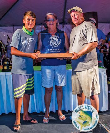 Antigua Francis Nunes Jr Memorial Tournament Sean McMillan – Champion Boat 25ft & Under