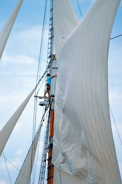 Schooner Columbia Sails Photos by Jan Hein