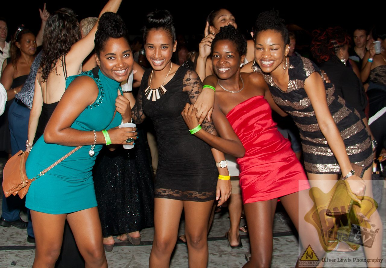 New Year's Eve at the Victory Bar in Marina Port Louis Grenada