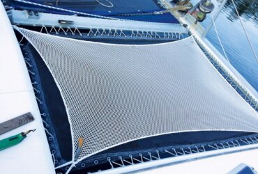 as a sailmaker I am often appalled at just how badly installed thebetween-hulls trampolinesare