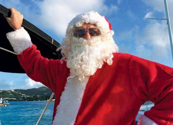 St. Croix's famous Santa