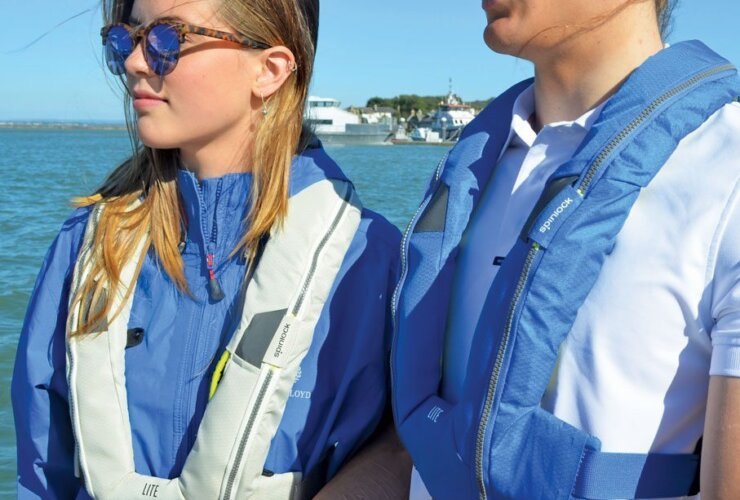 Spinlock's popular lifejacket, the Deckvest LITE, has been given a stunning new clean and contemporary look for 2017