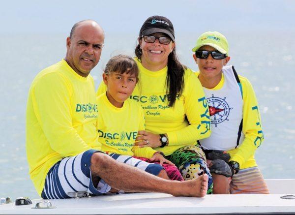 Fraito Lugo and family. Photo: Carlos Lee