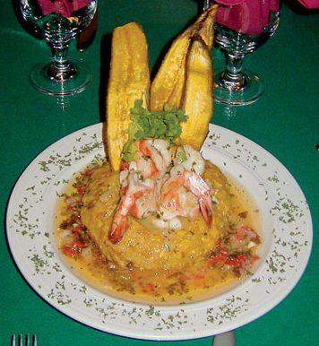 Shrimp & Mofongo, Puerto Rico. Photo: Dean Barnes