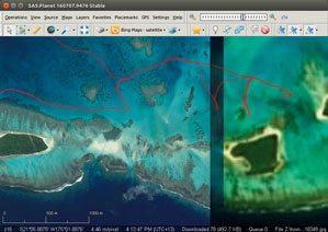 Reef Navigation Using Satellite Images