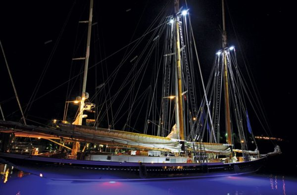 The Gloucester schooner Columbia – ultra-modern but steeped in tradition. Photo: OceanMedia