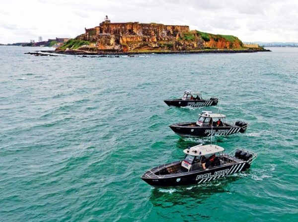 These vessels are the first PRPD boats operating in San Juan, Puerto Rico