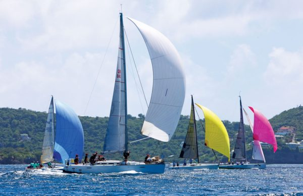 Spinnaker Racing Class. Photograph Courtesy of Grenada Sailing Week