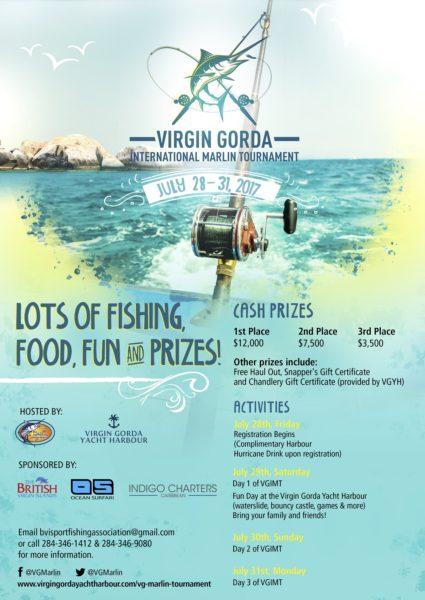 Virgin Gorda International Marlin Tournament Poster Details