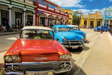 Cuban cars … in everyday use and a collector's dream. Photo by Rick Caroselli