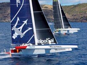 Maserati and Phaedo³ at the start. Photo by Tim Wright Photoaction.com