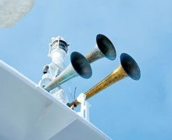 Masters of superyachts and ships of 100m (328ft) or more in length must make sure that their vessels have a whistle, a bell and a gong on board.