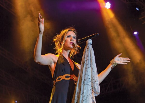 English singer, songwriter and actress Joscelyn Eve Stoker, better known as Joss Stone, performs at the Pure Grenada Music Festival. Photo: Alexandra Quinn