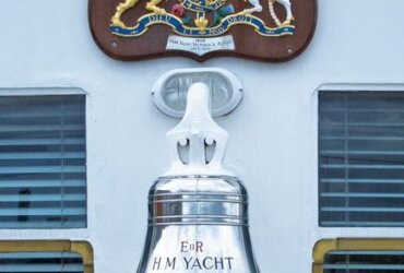 The Royal Clangor - Masters of superyachts and ships of 100m (328ft) or more in length must make sure that their vessels have a whistle, a bell and a gong on board.