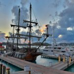 El Galeón Andalucia – The old alongside the new. Photo Dean Barnes