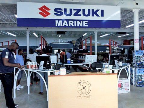 Suzuki at North Yacht Shop, Grenada