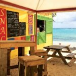 A charming beach bar in Capesterre. Photo Jan Hein