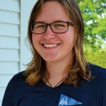 Jade Forsberg was honored for her contributions to the sport of college sailing