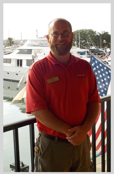 CCYH's Marina Manager Travis Staats