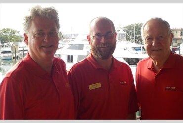 CCYHs-President-Peter-Sabo-Marina-Manager-Travis-Staats-Chairman-Joe-Taylor