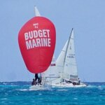 The J24s do battle at the Budget Marine Challenge