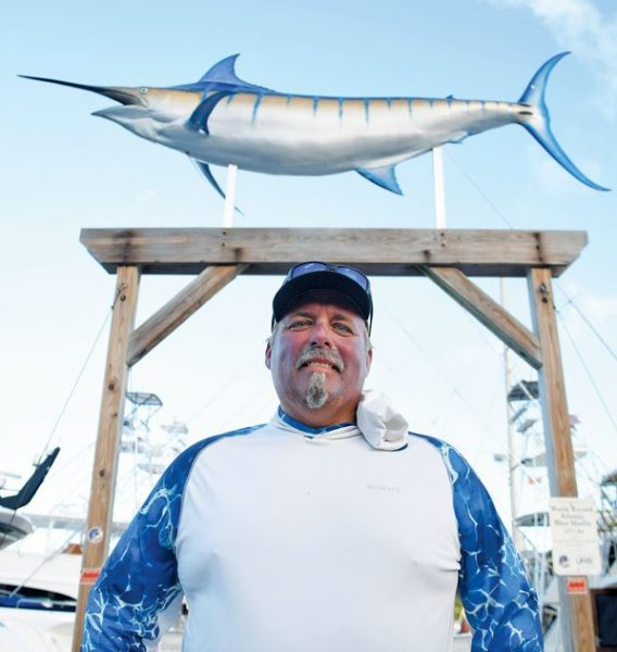 Sodium's Chad Damron, of Crystal River, Florida outfished the competition. Photo: Dean Barnes