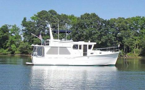 Tadhana on the Potomac - Sailboat to Trawler