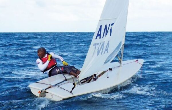 Antigua's Karl James