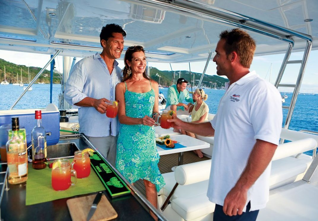 Power or sail, work as skipper or crew on a charter yacht. Photo: Courtesy of The Moorings